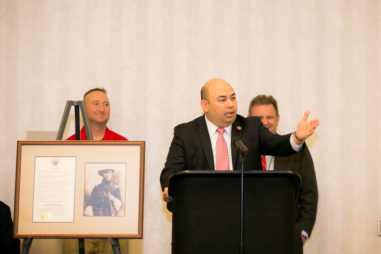 Speaker Rosenberger Receives Award for Legislative Excellence