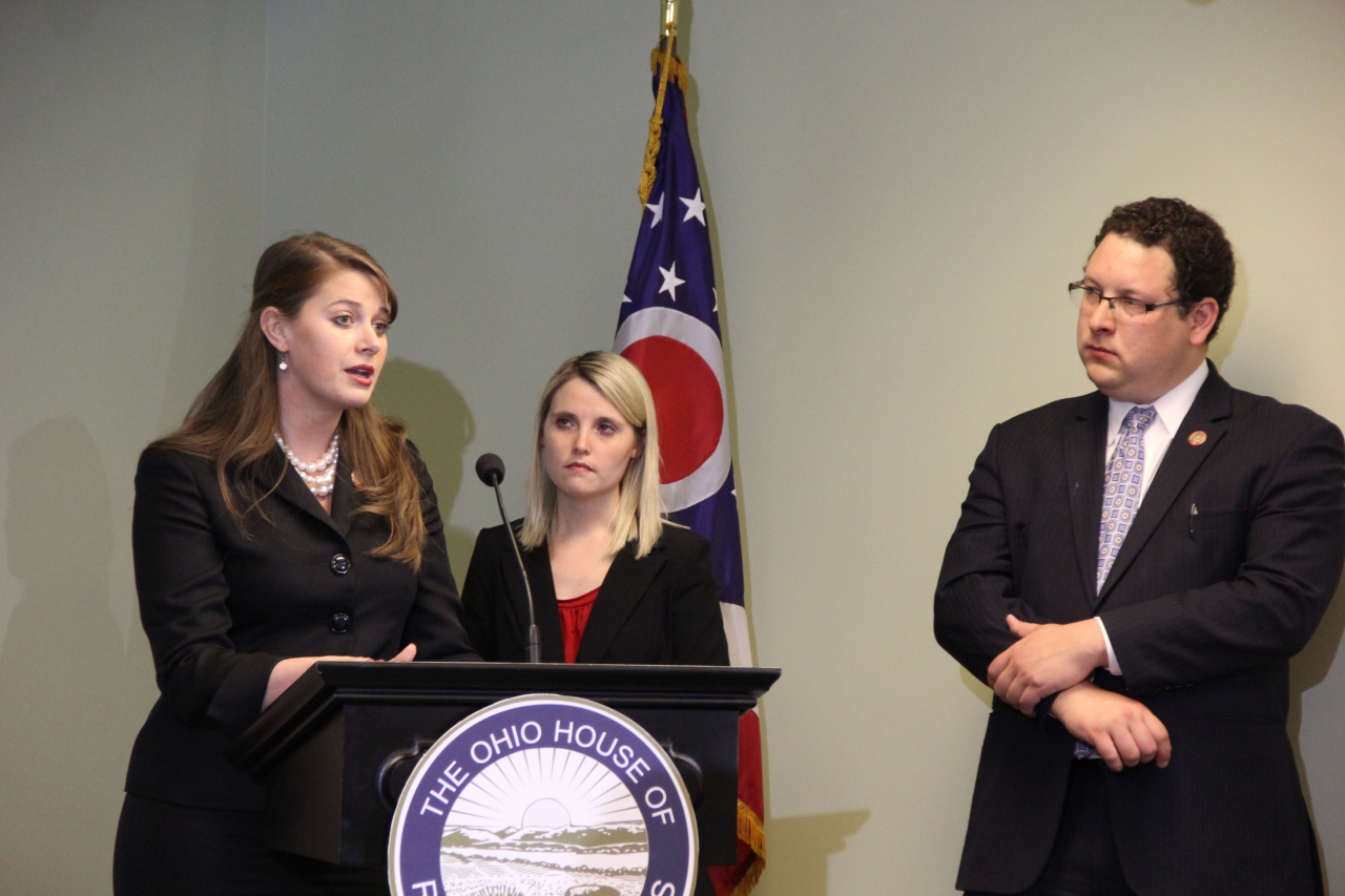 State Representatives Christina Hagan and Dan Ramos Hold Press Conference on Assault Prevention Education Bill
