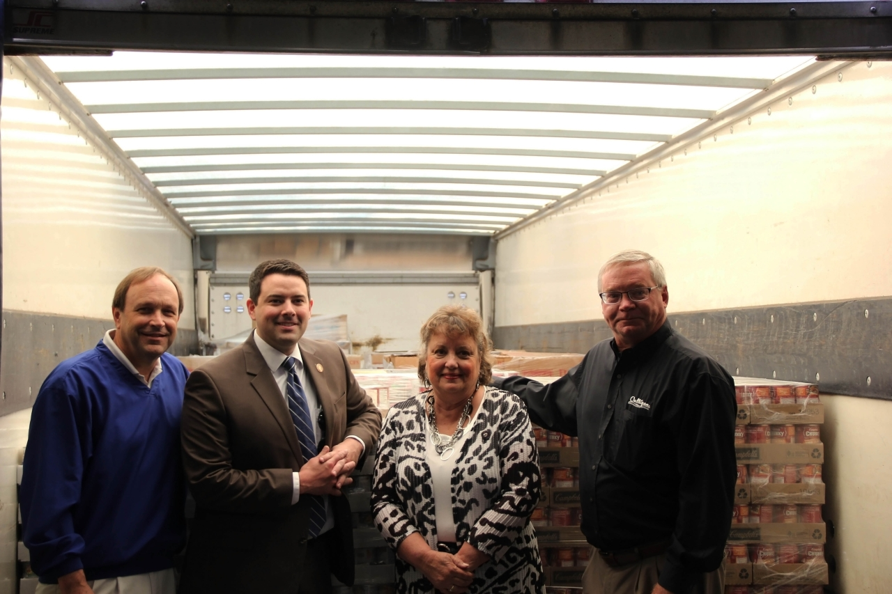 Ohio House Members Present Mid-Ohio Foodbank with Operation Feed Donations