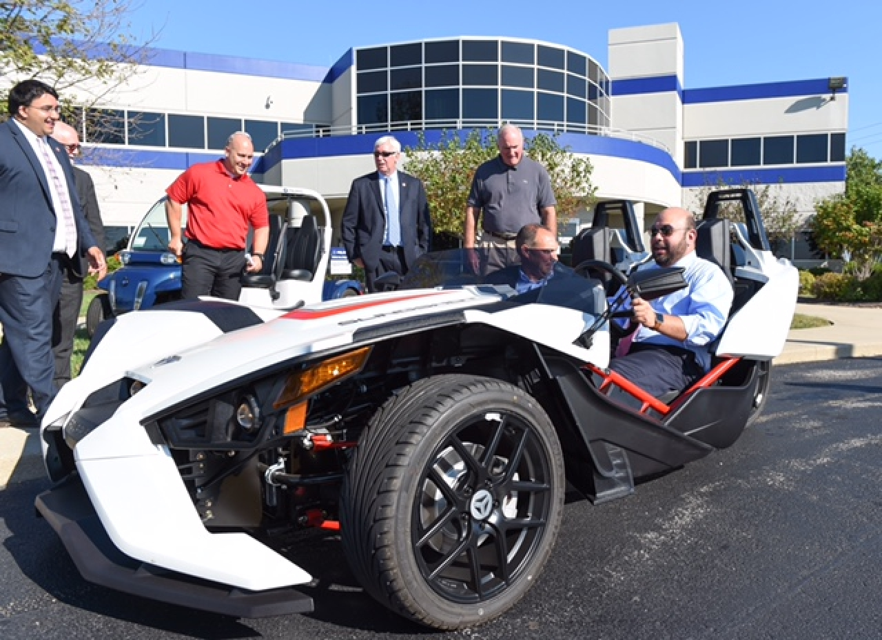 Speaker Rosenberger, Fellow Lawmakers Tour Polaris Industries in Wilmington