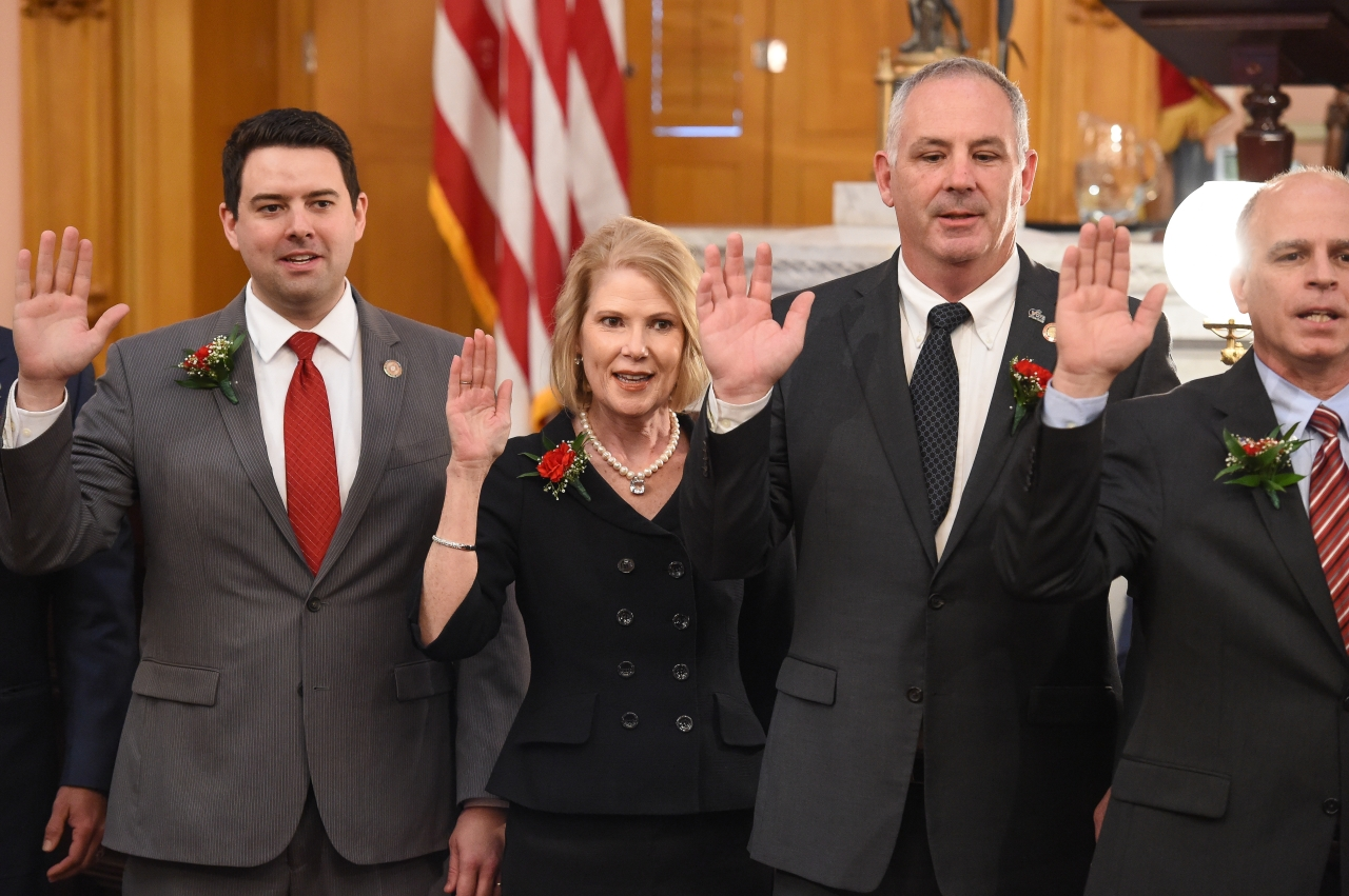Representative McColley Sworn In as State Representative and Assistant Majority Whip of the 81st House District