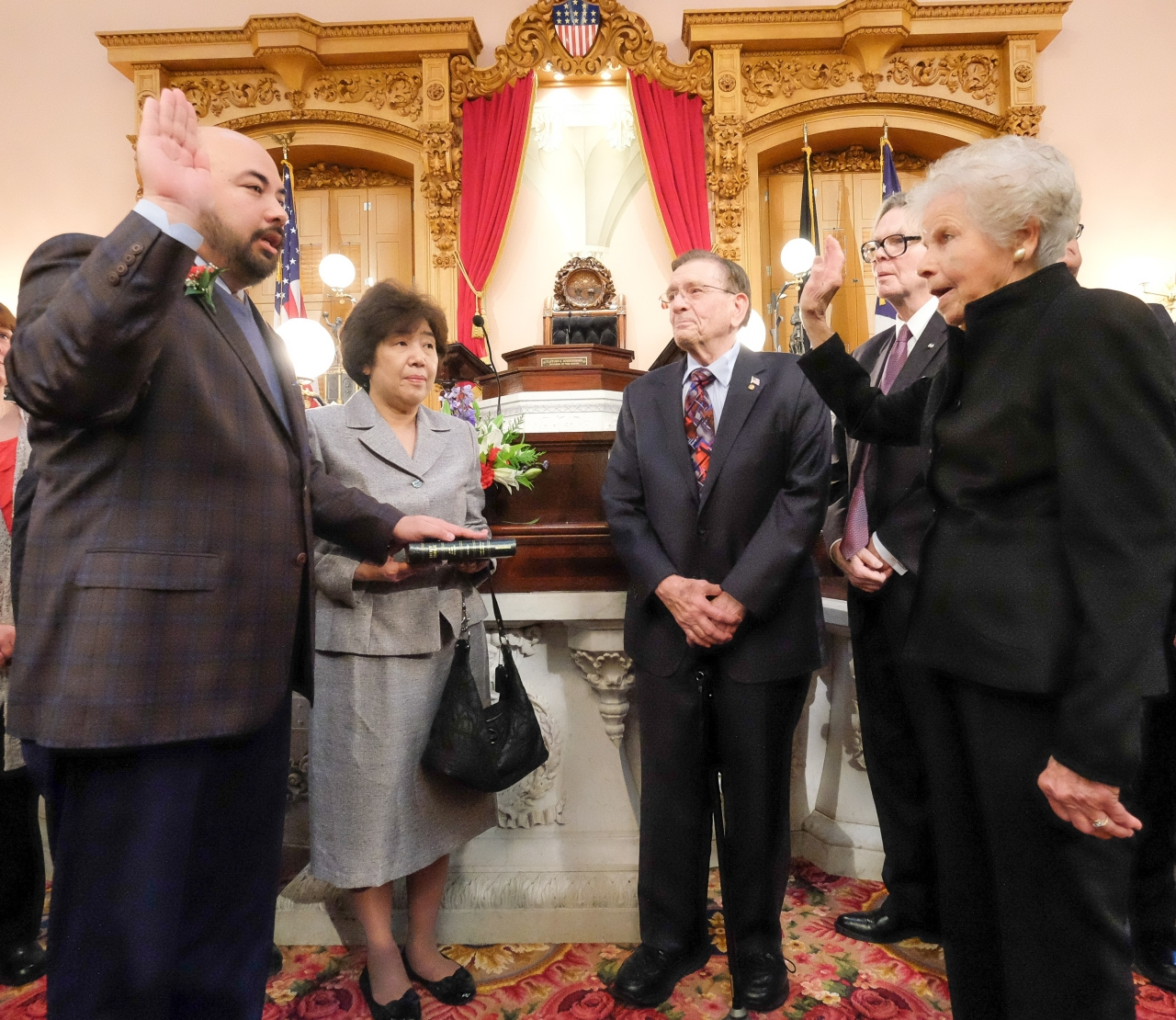 Speaker Cliff Rosenberger Sworn in to Final Term in Ohio House
