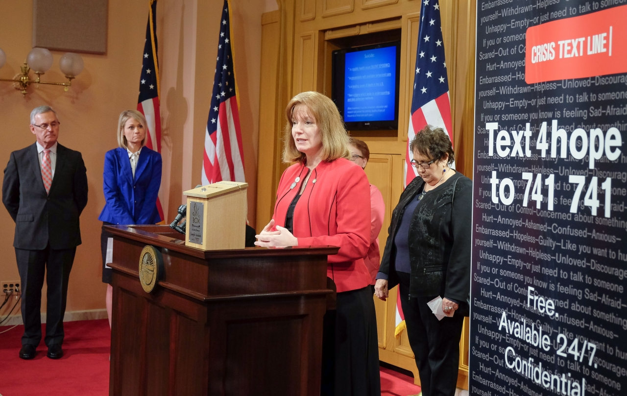 Rep. Marlene Anielski Joins Public Leaders, Military Veterans to Highlight State's Suicide Prevention Efforts