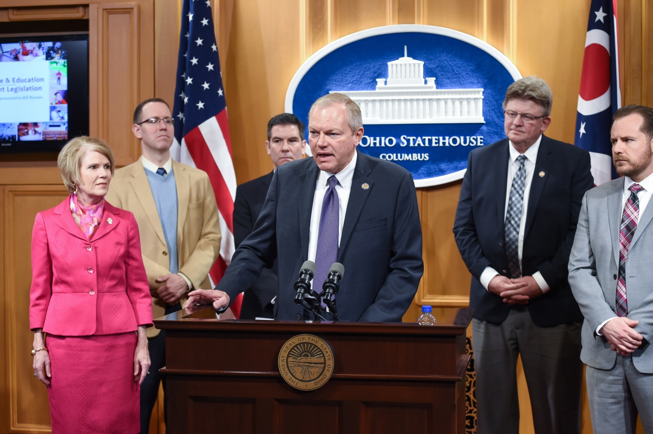 Rep. Bill Reineke Introduces Legislation Aligning Ohio's Education System with Workforce Needs